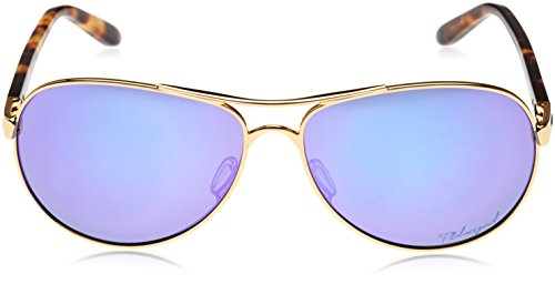9dbc0362b1 Oakley Women s Feedback Polarized Iridium Aviator Sunglasses ...