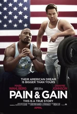 Pain and Gain - Dwayne Johnson – Movie Wall Poster Print – 30cm x ...