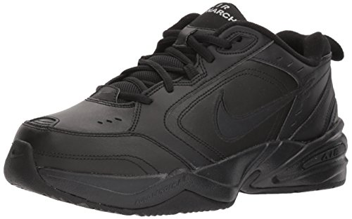 NIKE AIR MONARCH IV (MENS) - 6 Black/Black by Nike (Image #1)