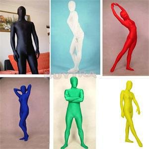 2014 New SH Popular Full Body Spandex Cosplay Clothes Skin Suit Catsuit Halloween Zentai Costumes (Cat Costume Commercial)