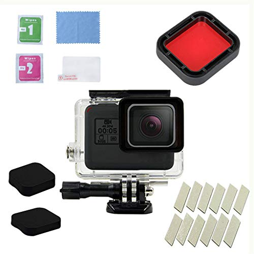 Finedayqi ❤ for GoPro Hero7 Black/6/5 Waterproof Case Diving Protective Housing Shell 45m