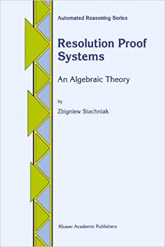 Resolution Proof Systems: An Algebraic Theory (Automated Reasoning Series)