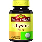 Cheap Nature Made L-Lysine 500mg (100 Tablets)