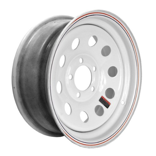 Martin Wheel 5-Hole Steel Mod Trailer Wheel (15x6'' / 5x4.5'') by Martin Wheel (Image #1)