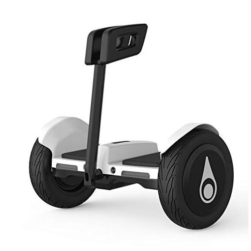 LXLTLB Hoverboard, Smart Scooter Electrique Self Balance Board Scooter Hover Board Bluetooth 6,5″, Électrique avec LED Auto-Équilibrage pour Enfants Und Adultes,Blanc