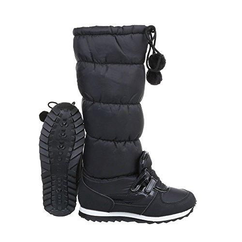 Ital-Design Women's Classic Boot Black 68wFHsjLZ