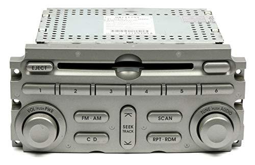 2004-05 Mitsubishi Endeavor AM FM Radio Single CD Disc Player With Face MN141259 (Code Radio Mitsubishi)