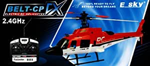 E-Sky 6Ch 2.4Ghz Belt-Cp Cx Rtf R/C Helicopter Case Pack 2