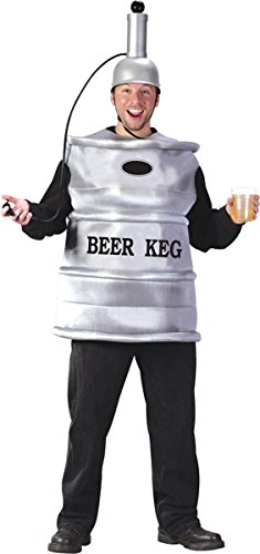 Beer Keg Halloween Costumes (Beer Keg Costume - Standard - Chest Size 33-45)