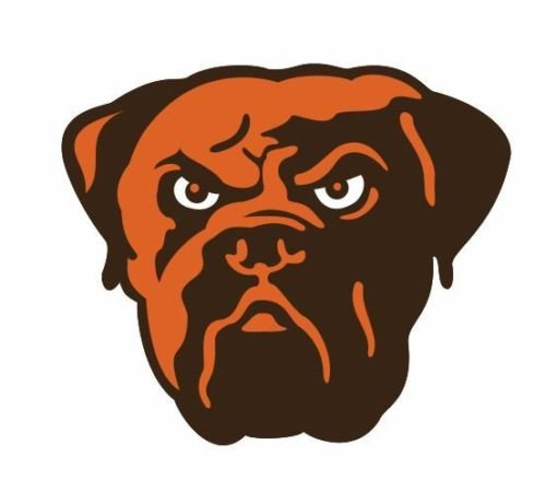 (USTORE Vinyl Sticker Decal Cleveland Browns Resist Fading Weather Glossy Logo Windows Car Bumpers Laptop Wall, 4 inch)