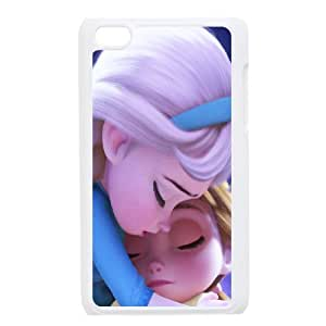 Bloomingbluerose Elsa Ipod Touch 4 Case Elsa with Babay, {White}