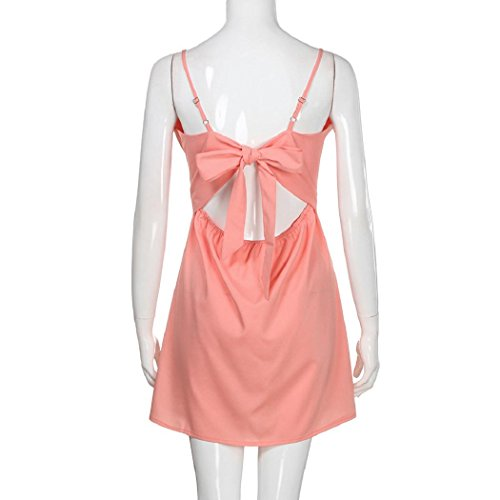 Buttons Pocket Sling Slim Waist Sleeveless Dress Shoulder Dress Off Women Princess 03 Pink ShenPr Printing Dot xPFRwWXp