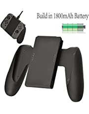 Balerion Joy-con comfort Charging Grip with biuld-in 1800mAh battery for n1ntendo switch Joy-Con