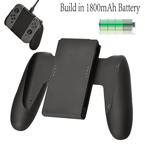 Balerion Joy-con comfort Charging Grip with biuld-in 1800mAh battery for nintendo switch Joy-Con