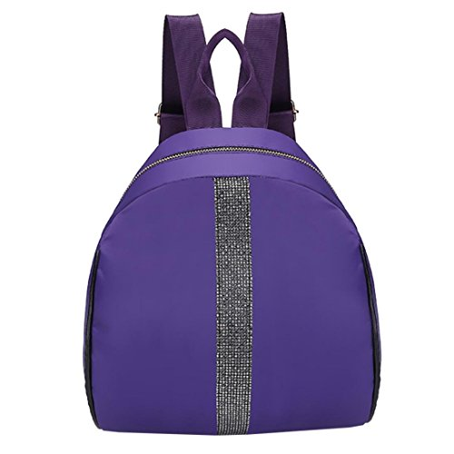 Cartable Scolaire OverDose à Bag Dos Femme Fourre Violet Backpack Nylon Fille Coton Tout Sac de School Mode dtXqwxEqn