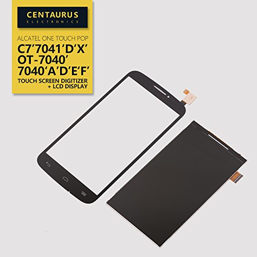 Replacement for Alcatel One Touch Pop C7 7041 7041D 7041X 7040 7040A 7040E LCD Display with Touch Screen Digitizer Part (Alcatel One Touch Pop C7)