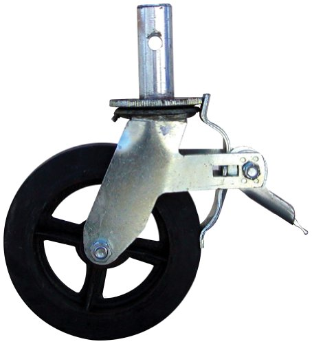 Buffalo Tools GSC8 8-Inch Caster with Foot Brake for GSF55 Scaffold Frame