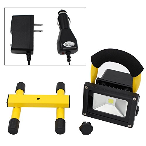Portable Outdoor 5w Led Rechargeable Work Garage Flood: Portable Rechargeable Cordless LED Work Light Flood Light