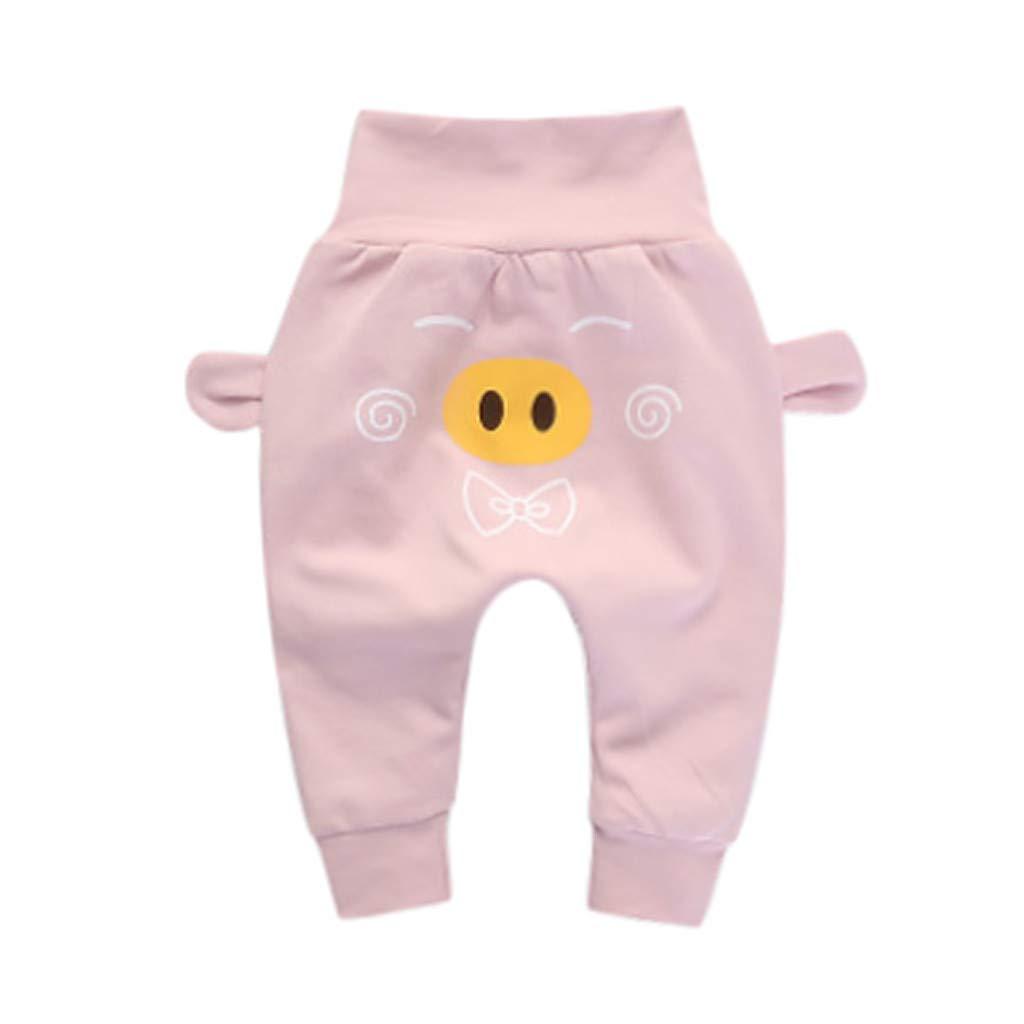Vetement B/éb/é PENNGE Enfants en Bas /âge B/éb/és Filles Gar/çons Dessin anim/é Canard Porc Joint PP Solide Un Pantalon Pantalon