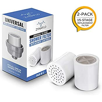15-Stage Shower Filter Replacement Cartridge (Pack of 2)