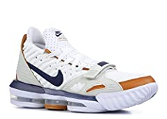 """The Nike LeBron 16 """"Air Trainer - Medicine Ball"""" is a special construction of the 16th LeBron James signature shoe inspired by the classic Nike Air Trainer 3. The cross-trainer championed by Bo Jackson in its iconic """"Medicine Ball"""" colorway i..."""