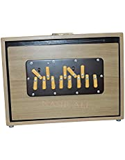 "SHRUTI BOX SURPETI TEAK WOOD 13 NOTES C C YOGA BHAJAN 440Hz SIZE 12"" X 9"" X 2.5"""