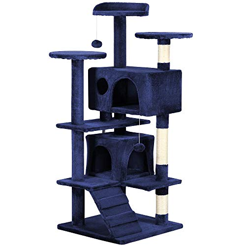 "Yaheetech 51"" Cat Tree Tower Condo Furniture Scratch Post fo"