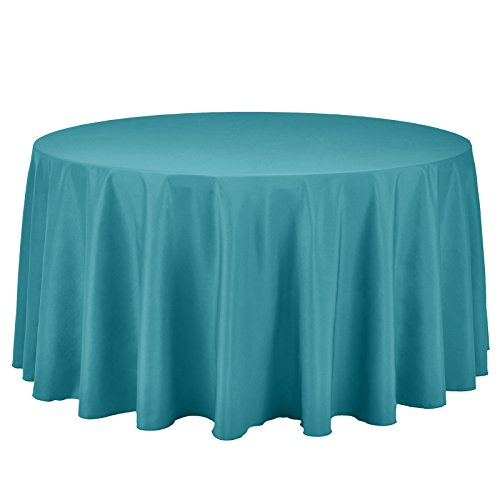Remedios 120-inch Round Polyester Tablecloth Table Cover -