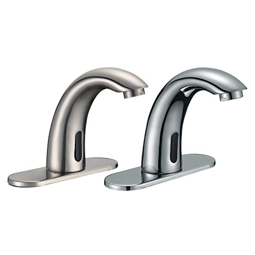 FREUER Magia Collection: Automatic Touchless Sensor Faucet, Brushed Nickel