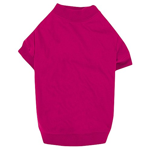 "Zack & Zoey Basic Tee Shirt for Dogs,16"" Medium, Pink"