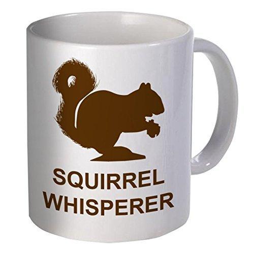 Willcallyou Coffee Mug, Squirrel Whisperer, 11 oz.