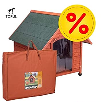 Spike Confort Torúl Set Caseta Puerta y Aislante para Mascotas Perros Gatos Talla M: 78 x 88 x 81 cm: Amazon.es: Productos para mascotas