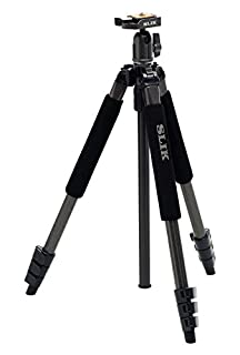 SLIK Sprint Pro II Tripod with SBH-100DQ Ball Head - Gun Metal Finish (B002821ESU) | Amazon price tracker / tracking, Amazon price history charts, Amazon price watches, Amazon price drop alerts