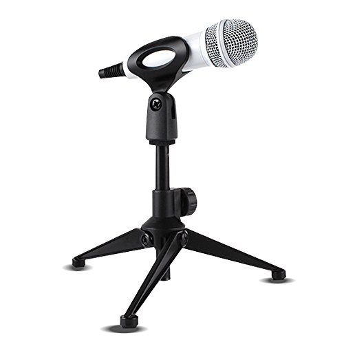 Transformers Costume Universal Studios (SENLIXIN Universal Microphone Stand Foldable Adjustable Desktop MIC Tripod Tabletop Stand with Small Clip for Podcasts Meetings Online Chat Conferences Lectures and More)