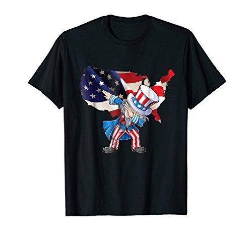Dabbing Uncle Sa Flag 4th of July USA (Uncle Sa)