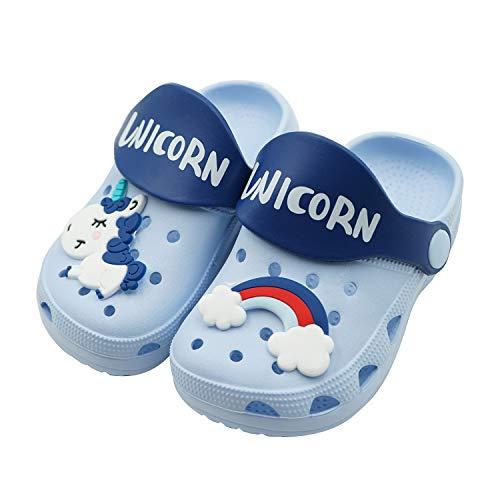 Boys Girls Cute Garden Shoes Kids Cartoon Slides Sandals Clogs Beach Slippers