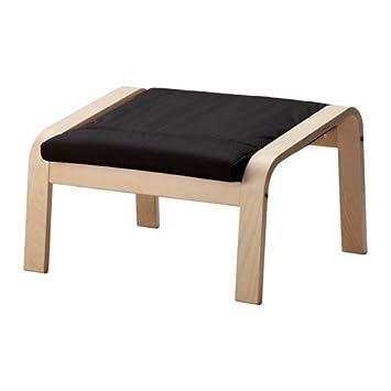Ikea relaxsessel auflage  IKEA Hocker für Schwingsessel Poäng mit Auflage in Granan schwarz ...