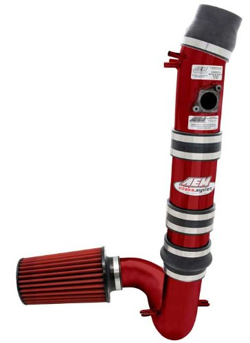 2004 Aem Cold Air Intake - AEM 21-485R Red Cold Air Intake System