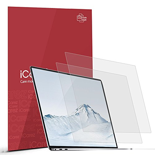 iCarez [Anti-Glare] Matte Screen Protector for Huawei MateBook X Pro Premium Easy Install with Lifetime Replacement Warranty
