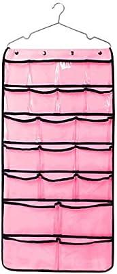 42 Pocket Hanging Ropa de Almacenamiento organizador armario doble ...