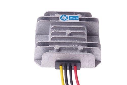 SMAKN® DC-DC Voltage Step-Down Converter Buck Module 24V / 36V / 48V / 60V to 12V 5A 60W Car LED power converter Waterproof