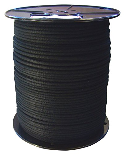 GREAT WHITE ROC360 600' Trick Line/Tie Line, Black from GREAT WHITE