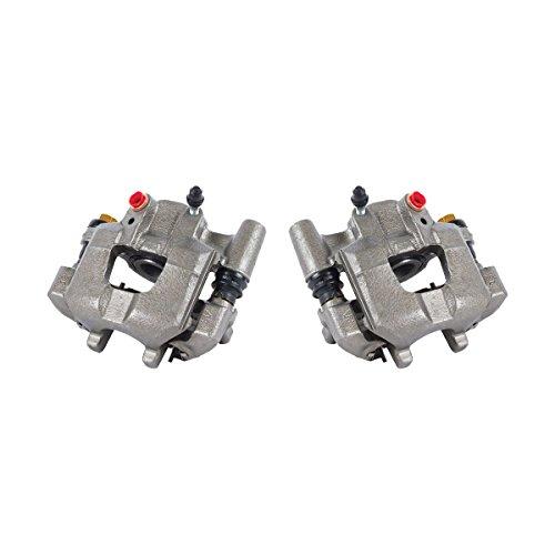 CK00954 [ 2 ] REAR Premium Grade OE Powder Coated Semi-Loaded Caliper Assembly Pair Set ()