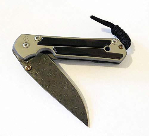 Chris Reeve S21-1122 Small Sebenza 21 Raindrop Damascus Blade,...