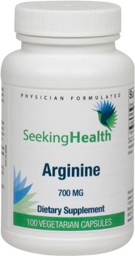 L Arginine vegetarian Formulated Seeking Health