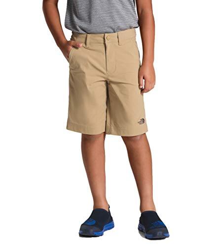 (The North Face Kids Boy's Spur Trail Shorts (Little Kids/Big Kids) Kelp Tan Medium)