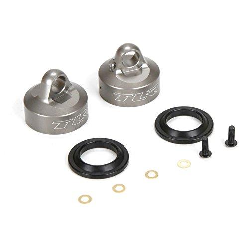 Team Losi Racing 16mm Bleeder Shock Caps, Aluminum (2): 8T 4.0, TLR243034