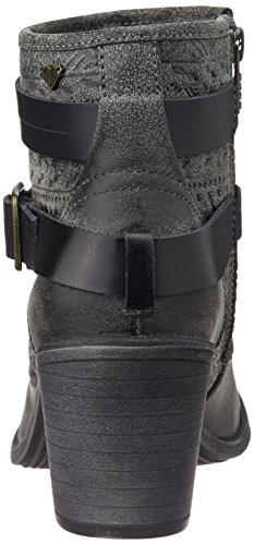 Black Gris RoxyPetra Deporte Zapatillas Mujer de Gris YpwYxFWCZq