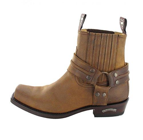 Sendra Boots2746 - botas estilo motero Unisex adulto Marrón - marrón