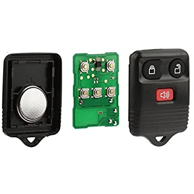 Key Fob Keyless Entry Remote fits Ford, Lincoln, Mercury, Mazda F150 F250 F350 Escape Expedition Explorer Ranger Flex (and more): Automotive